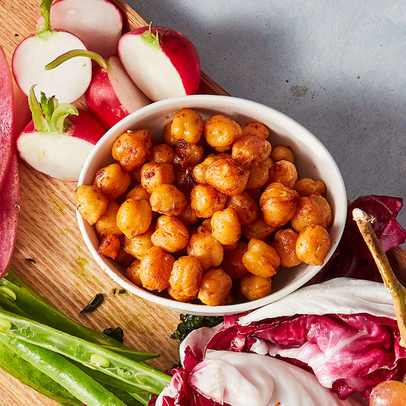 Photo of Oven-roasted chili chickpeas by WW
