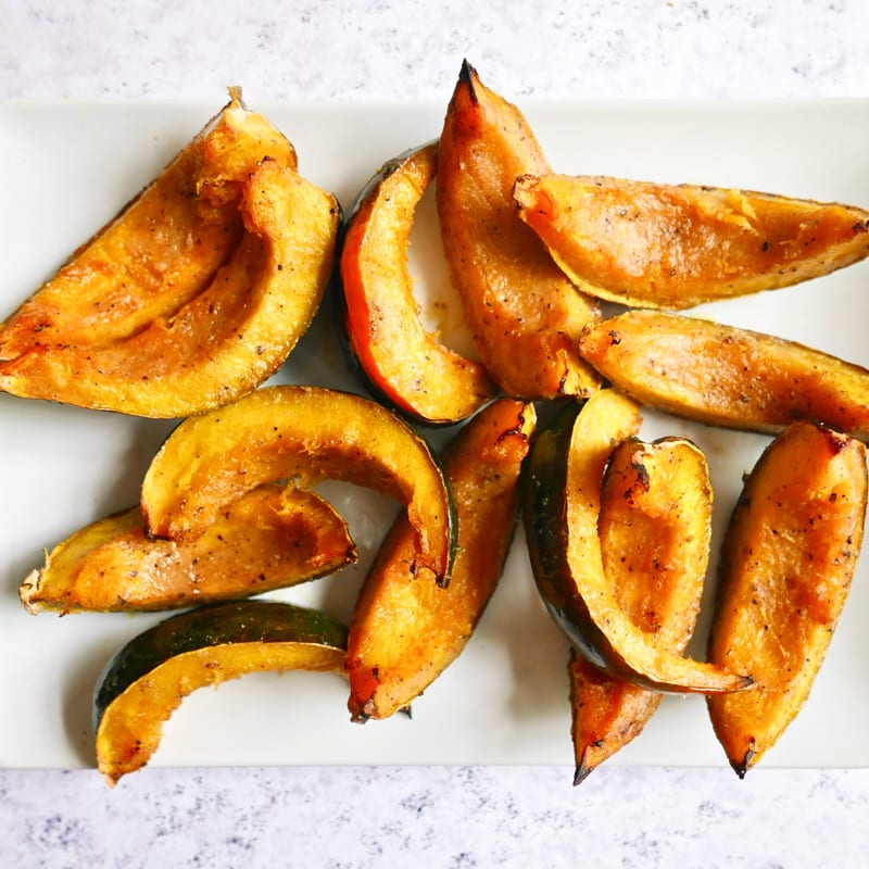 Photo of Miso and honey–glazed acorn squash by WW