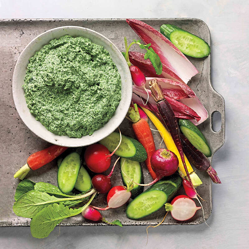 Photo of Creamy spinach parmesan dip by WW