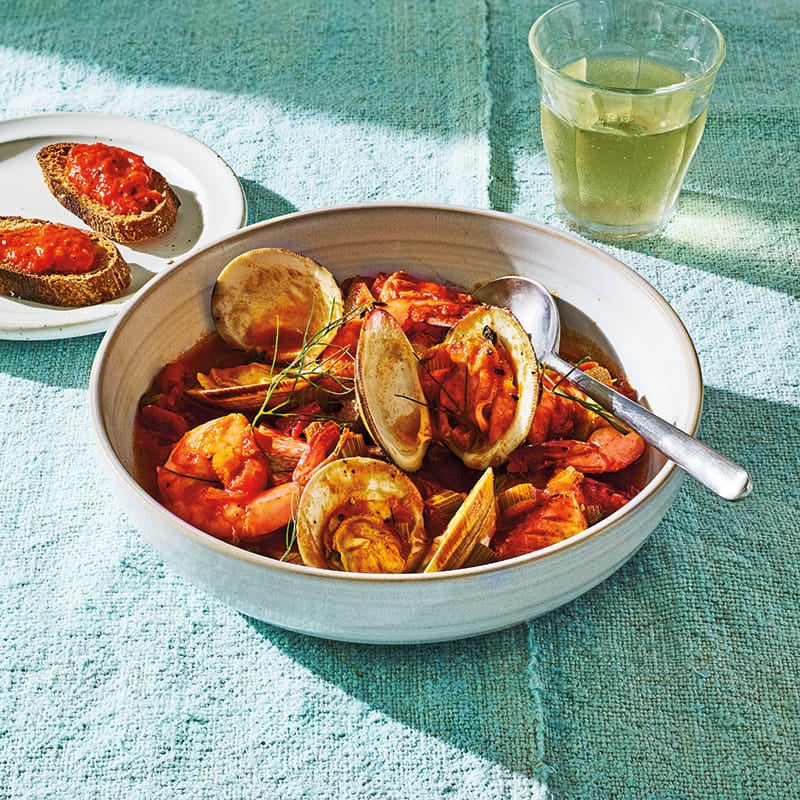 Photo of Bouillabaisse with rouille by WW