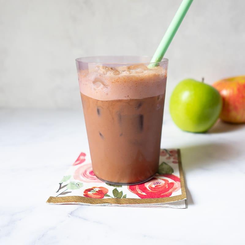 Photo of Apple Pie Iced Coffee by WW