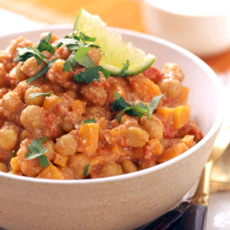 Photo of South Indian Curried Chickpeas by WW