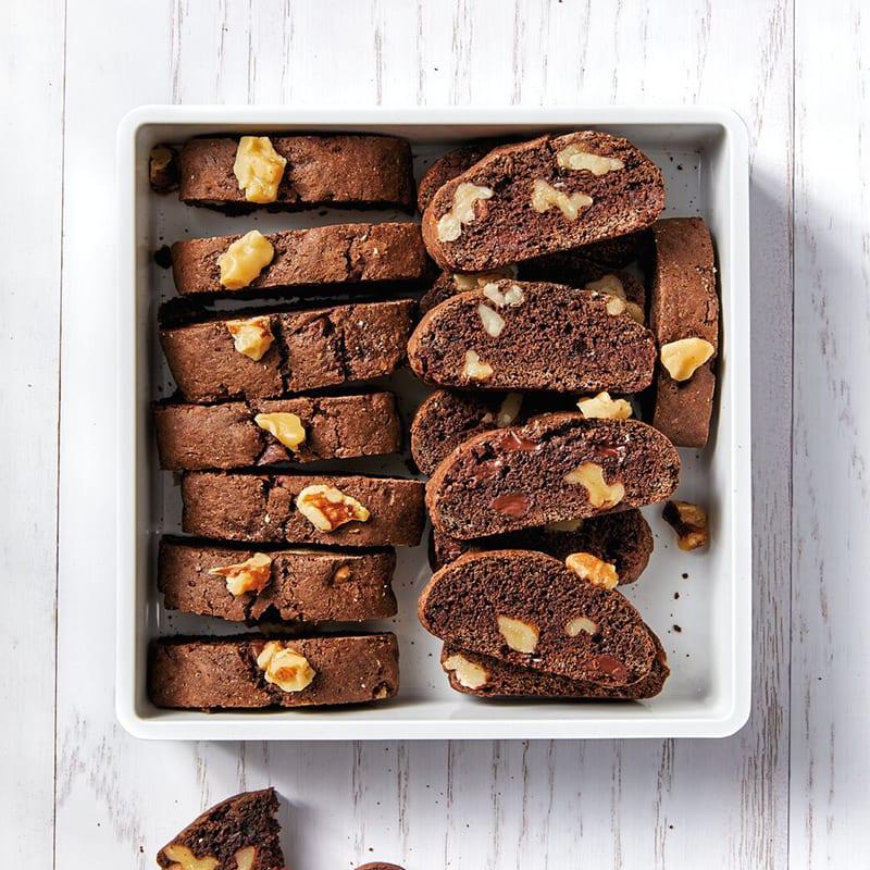 Photo of Mini chocolate brownie biscotti by WW