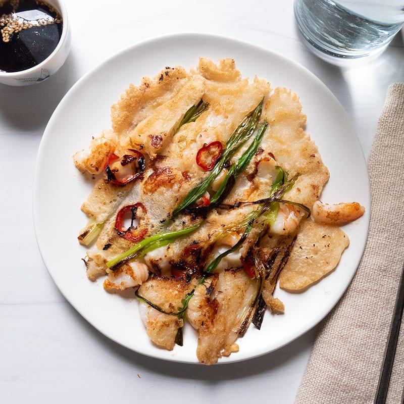 Photo of Haemul pajeon (Korean seafood pancake) by WW