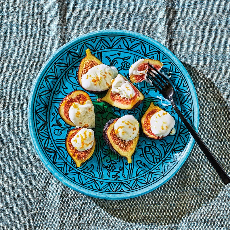 Photo of Figs drizzled with warm citrus honey by WW
