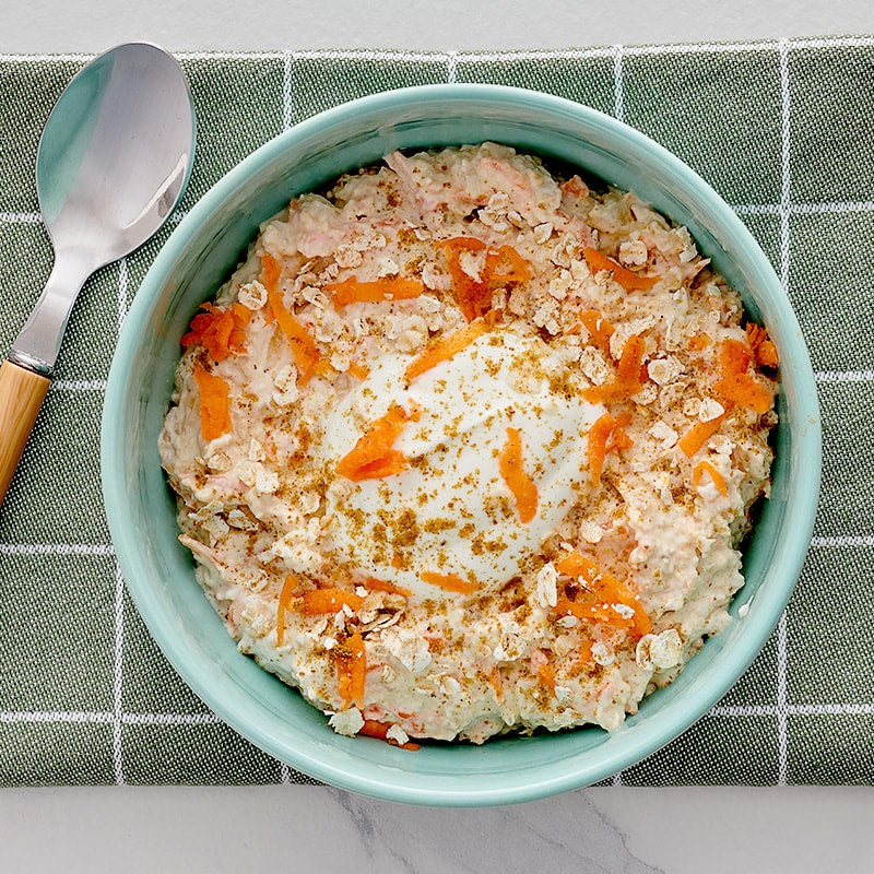 Photo of Carrot Cake Overnight Oatmeal by WW