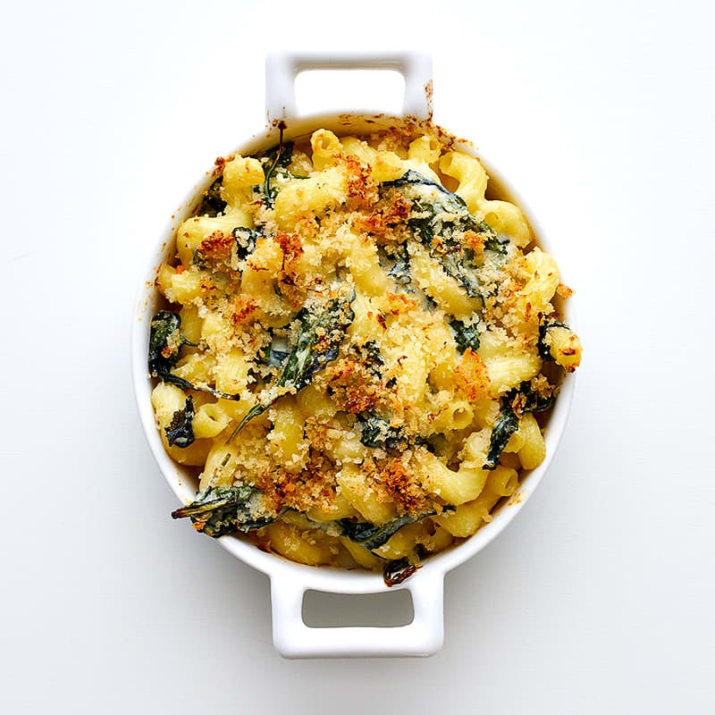 Photo of Baked pasta with goat cheese and baby kale by WW