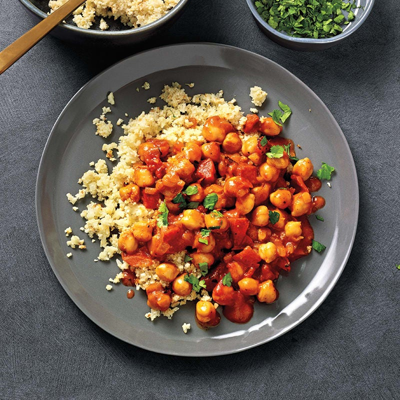 Photo of Five-ingredient slow-cooker chickpea tikka masala by WW
