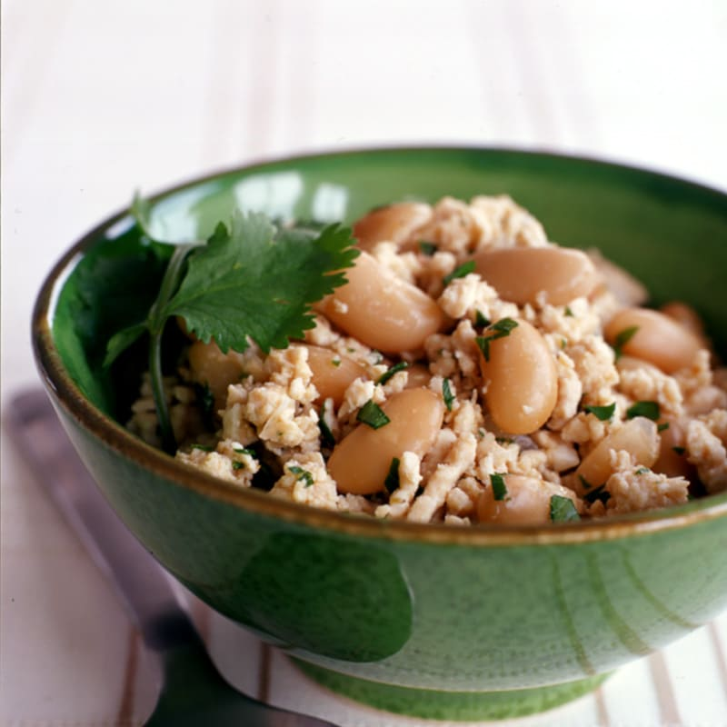 Photo of White bean and ground turkey slow cooker chipotle chili by WW