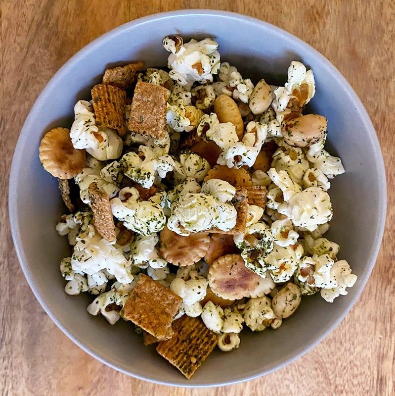 Photo of Ranch popcorn snack mix by Digital 360 Coach Tess by WW