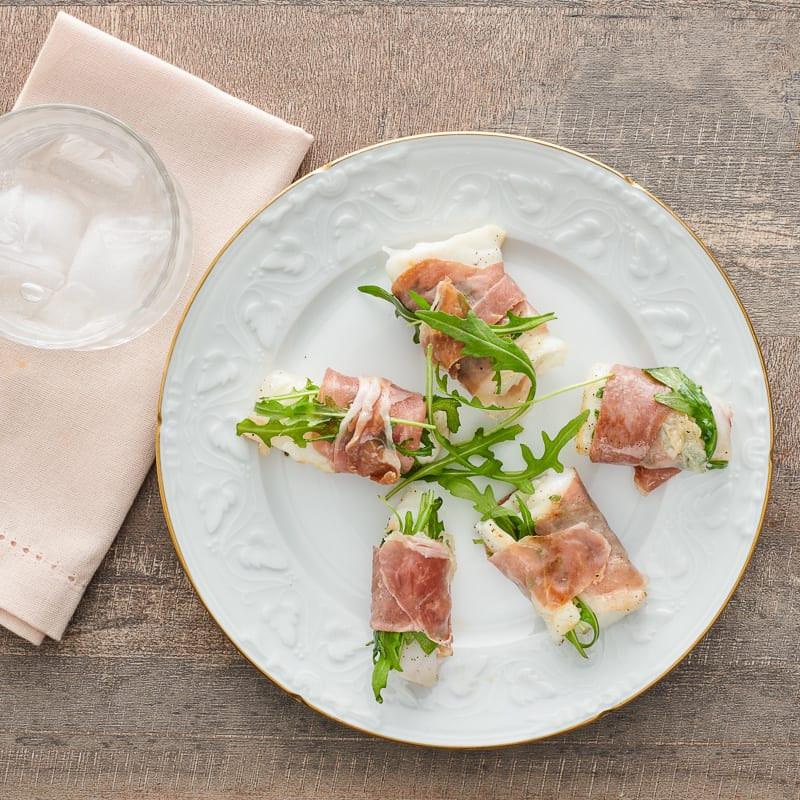 Photo of Parma-wrapped fillet of sole with arugula by WW