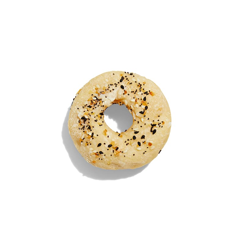 Photo of 2-ingredient dough everything  bagels by WW