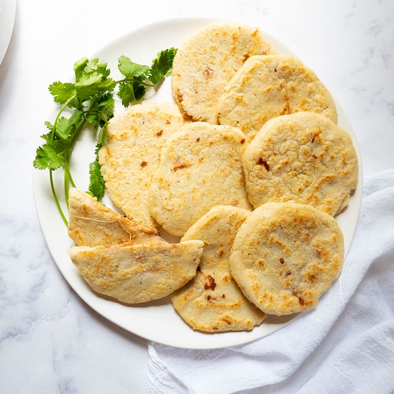 Photo of Bean and Cheese–Stuffed Pupusas by WW