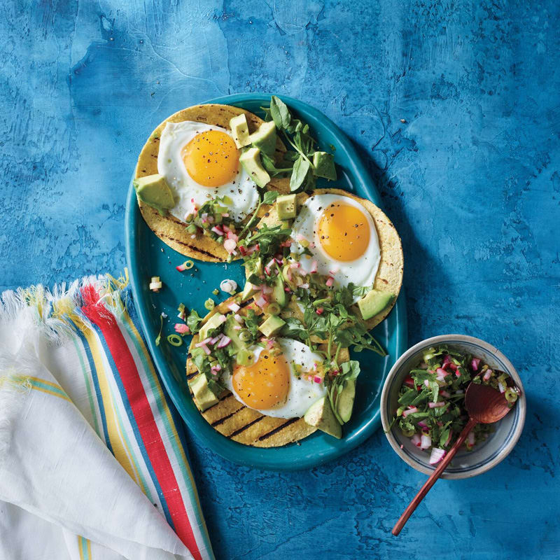 Photo of Egg and avocado tacos by WW