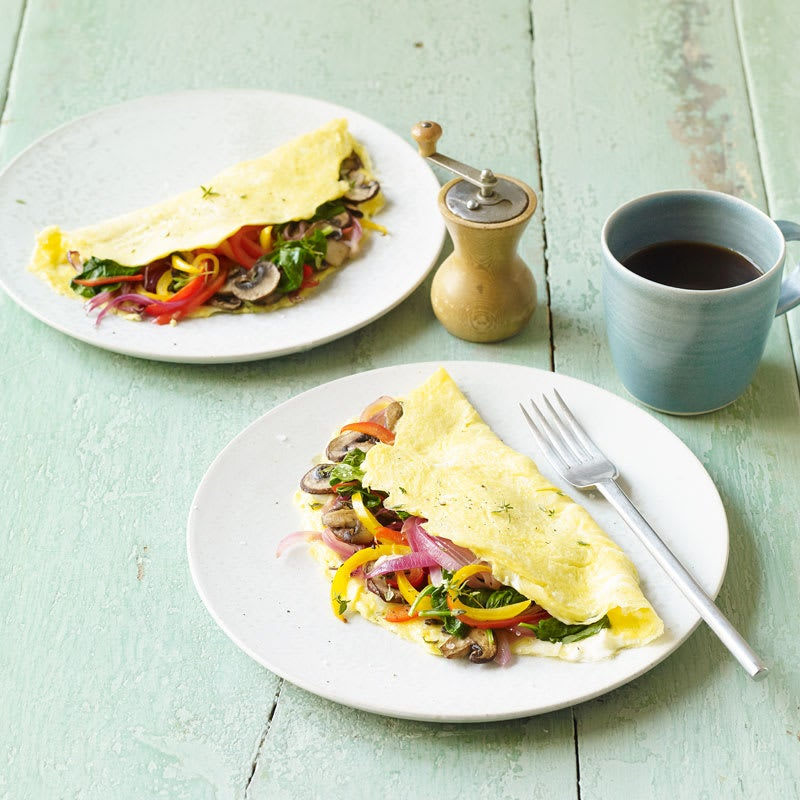 Photo of Veggie lovers' omelet by WW