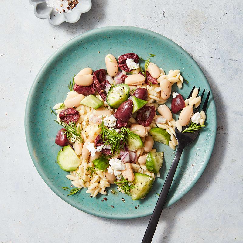 Photo of Mediterranean pasta & white bean salad by WW
