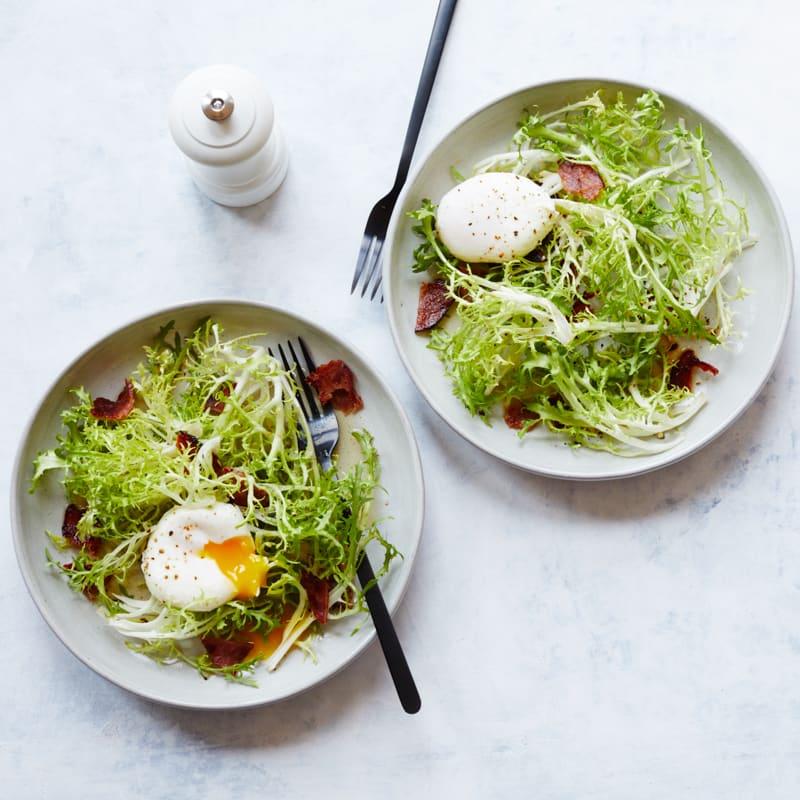 Photo of Frisées aux lardons salad by WW