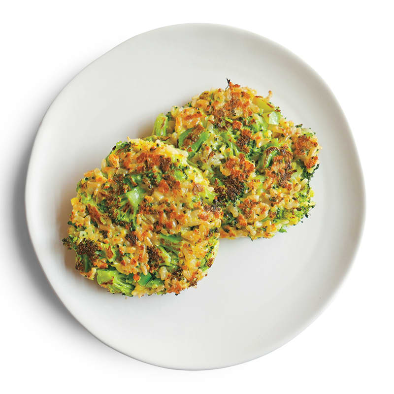 Photo of Broccoli-rice cakes by WW