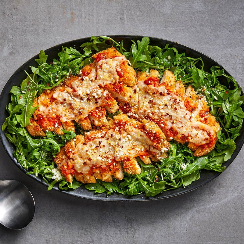 Photo of Chicken Parmesan salad by WW