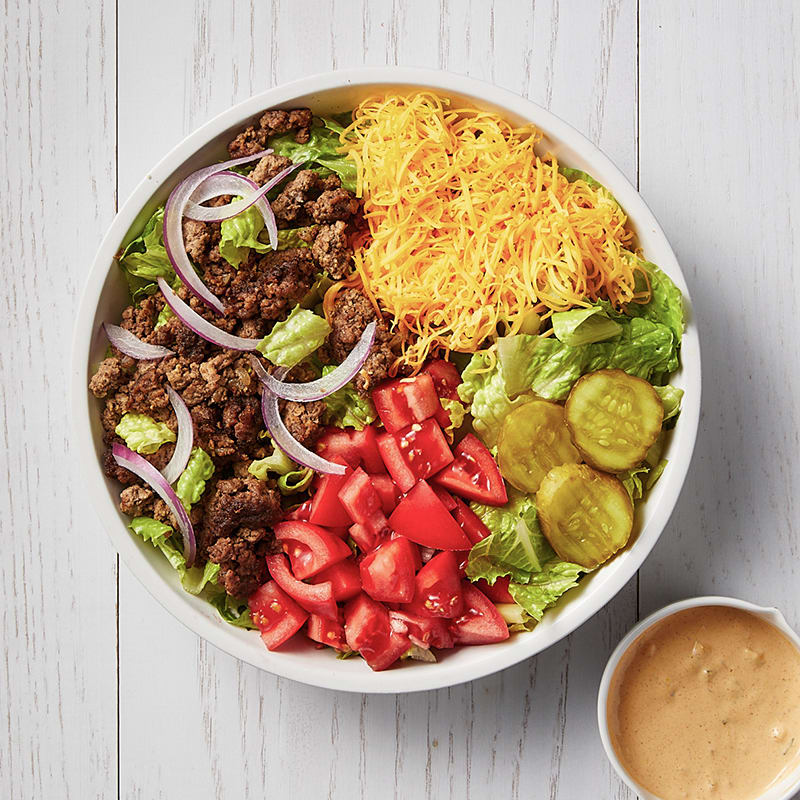 Photo of Cheeseburger bowl by WW