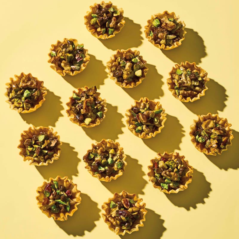 Photo of Chocolate & nut phyllo tartlets by WW