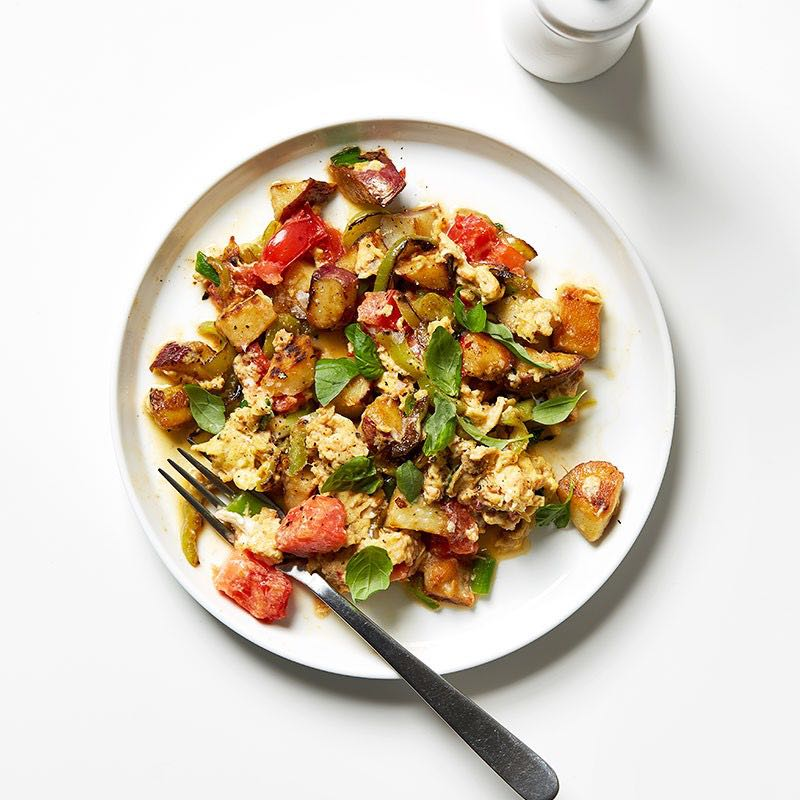Photo of Italian vegetable and egg scramble by WW