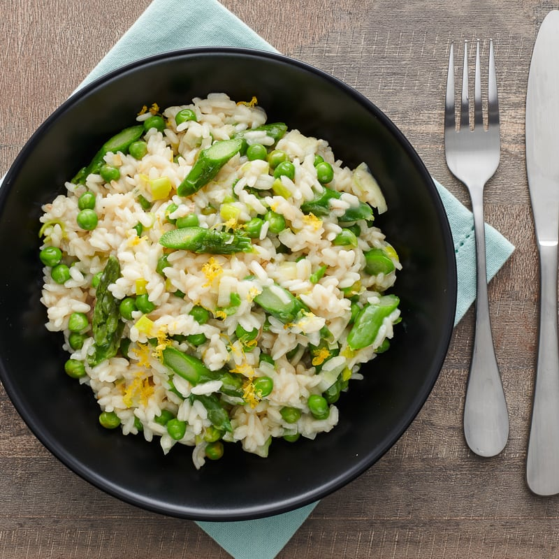 Photo of Lemon risotto with spring vegetables by WW