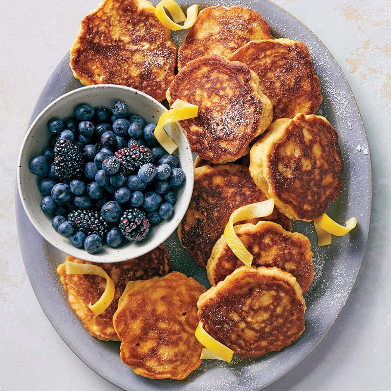Photo of Fluffy lemon-ricotta pancakes by WW