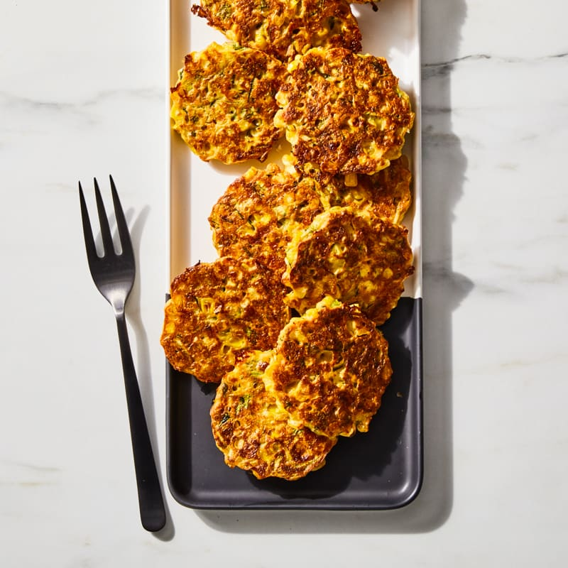 Photo of Zucchini and corn fritters by Millie Peartree by WW