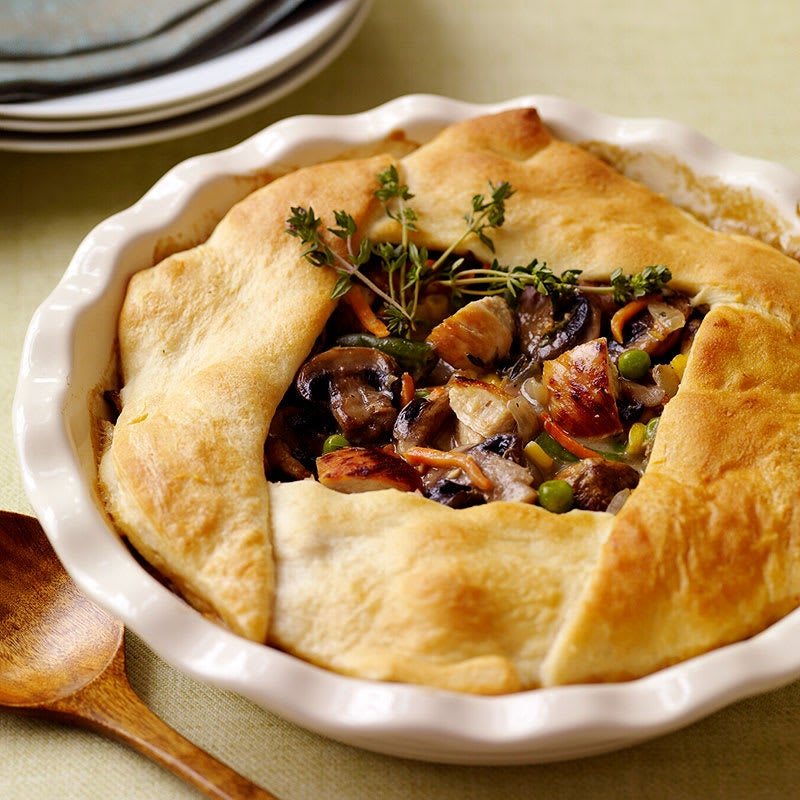 Photo of Old-fashioned chicken pot pie by WW