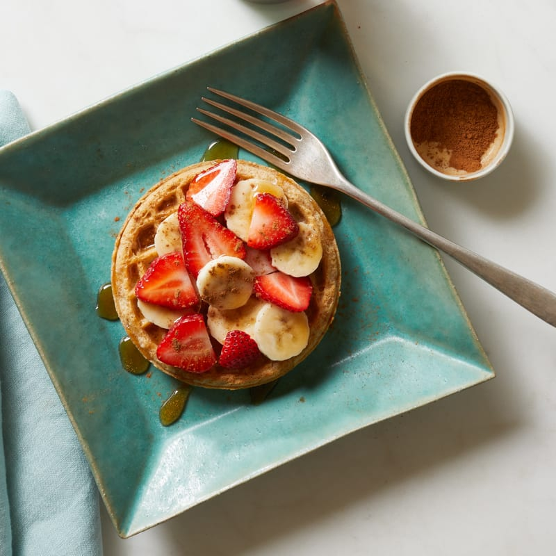 Photo of Banana-berry waffle by WW