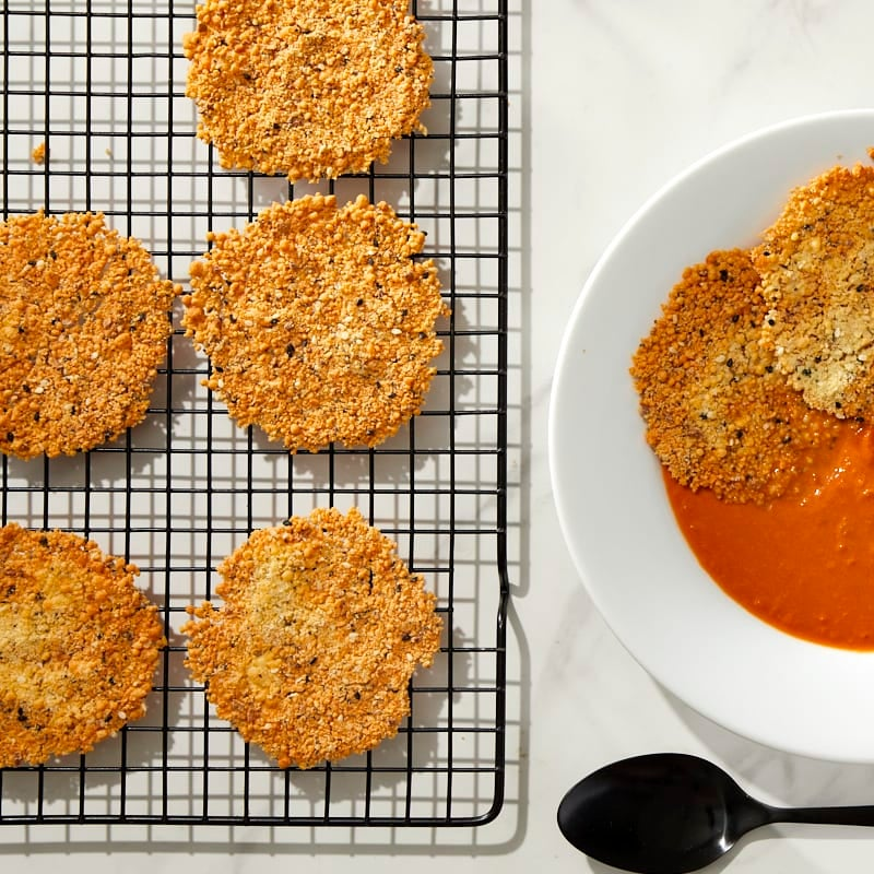 Photo of Everything Parmesan Crisps by Millie Peartree by WW