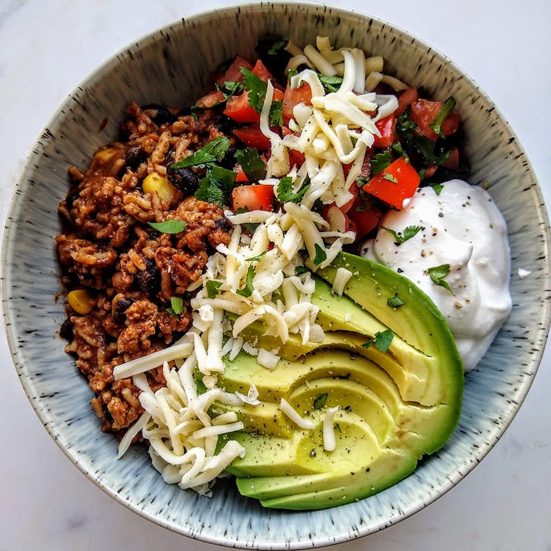 Photo of Quick enchilada bowls by Zen of Slow Cooking by WW