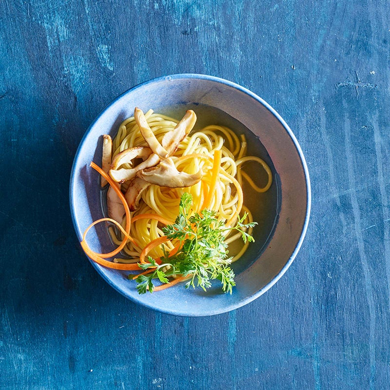 Photo of Ramen noodle soup with jammy eggs by WW