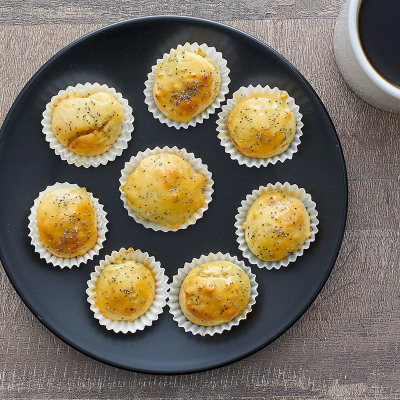 Photo of Lemon–poppy seed mini-muffins by WW