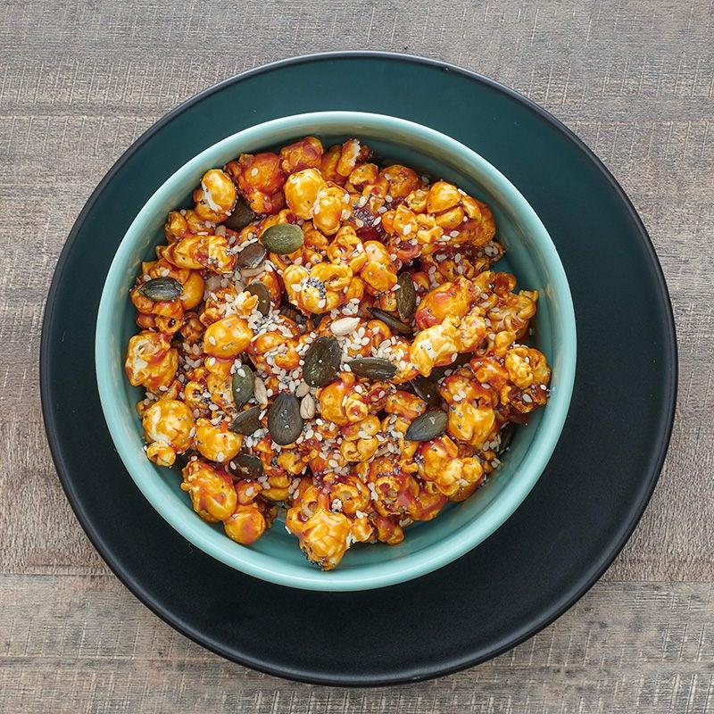 Photo of Maple-glazed popcorn snack mix by WW