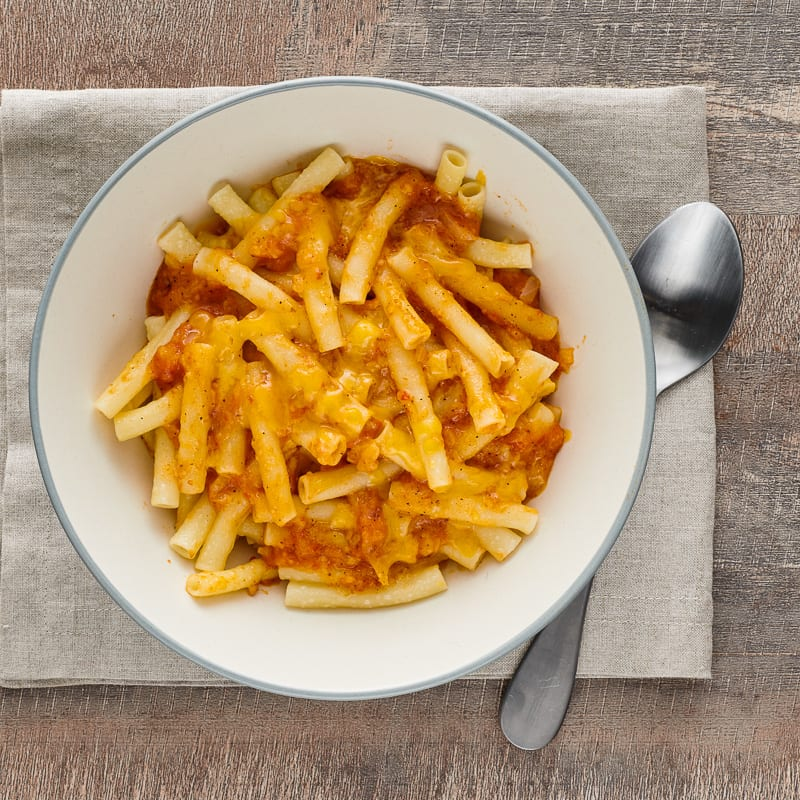 Photo of Macaroni and cheese with diced tomatoes by WW