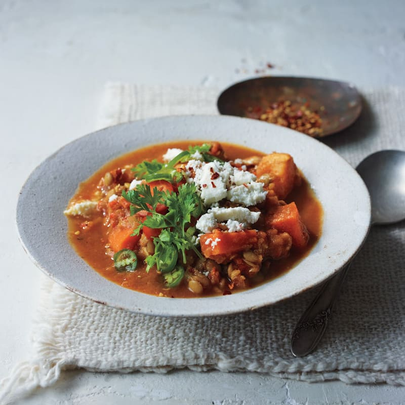 Photo of Lentil and roasted-vegetable soup by WW