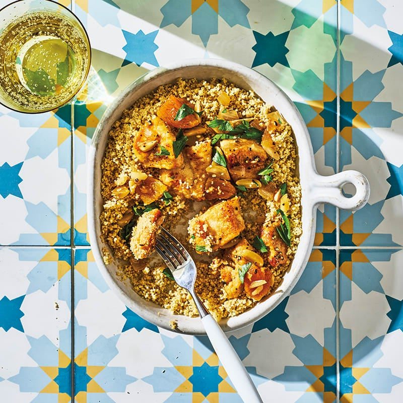 Photo of Chicken tagine with apricots & almonds by WW