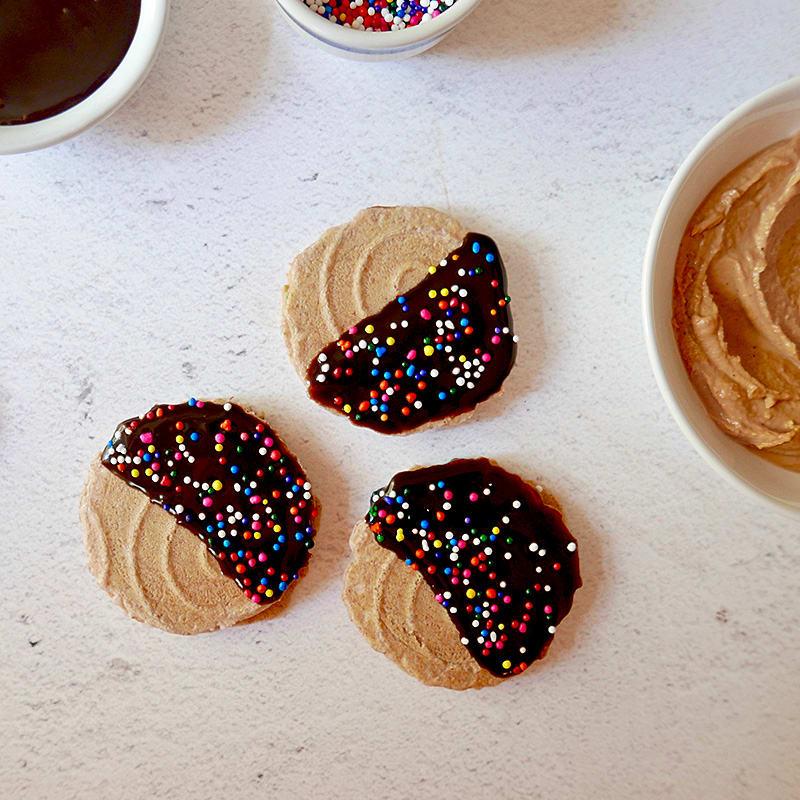 Photo of Peanut butter sandwich snacks by WW