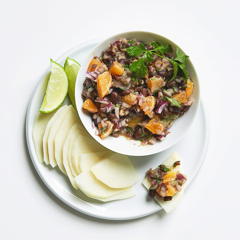 Photo of Black bean & clementine dip by WW