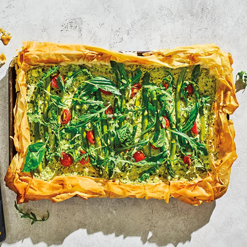 Photo of Veggie phyllo tart by WW