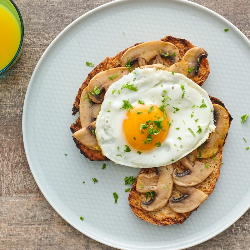 Photo of Egg and mushroom toast by WW