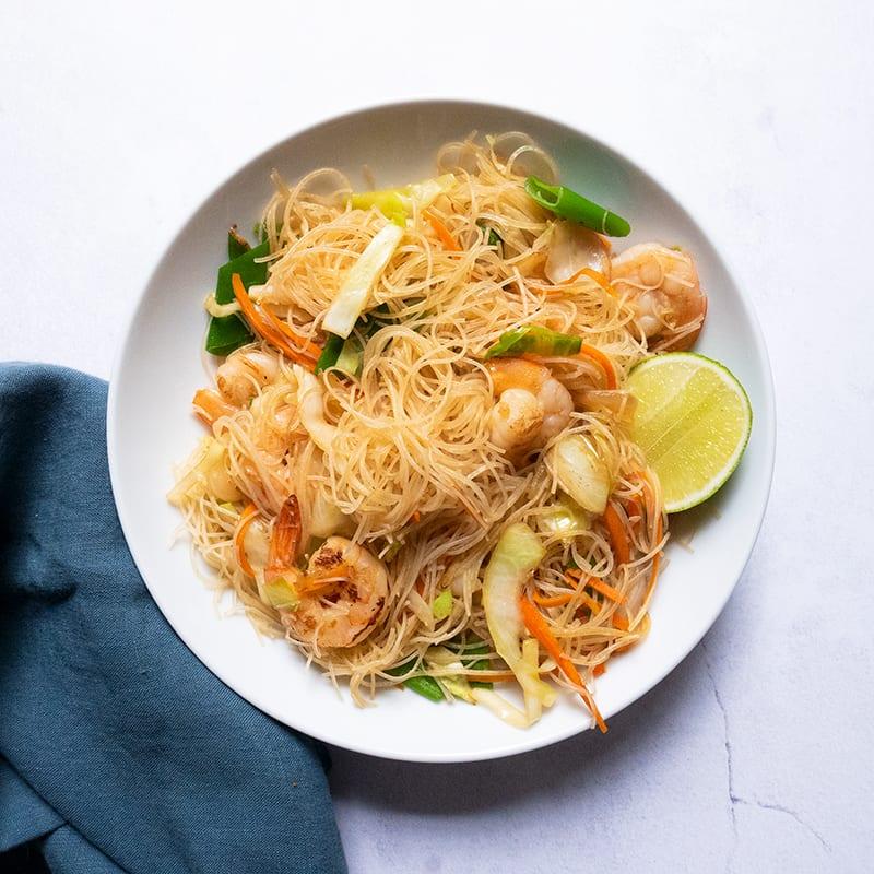 Photo of Pancit bihon with shrimp by WW