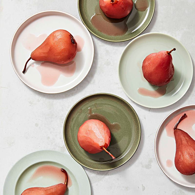 Photo of Red wine–poached pears by WW