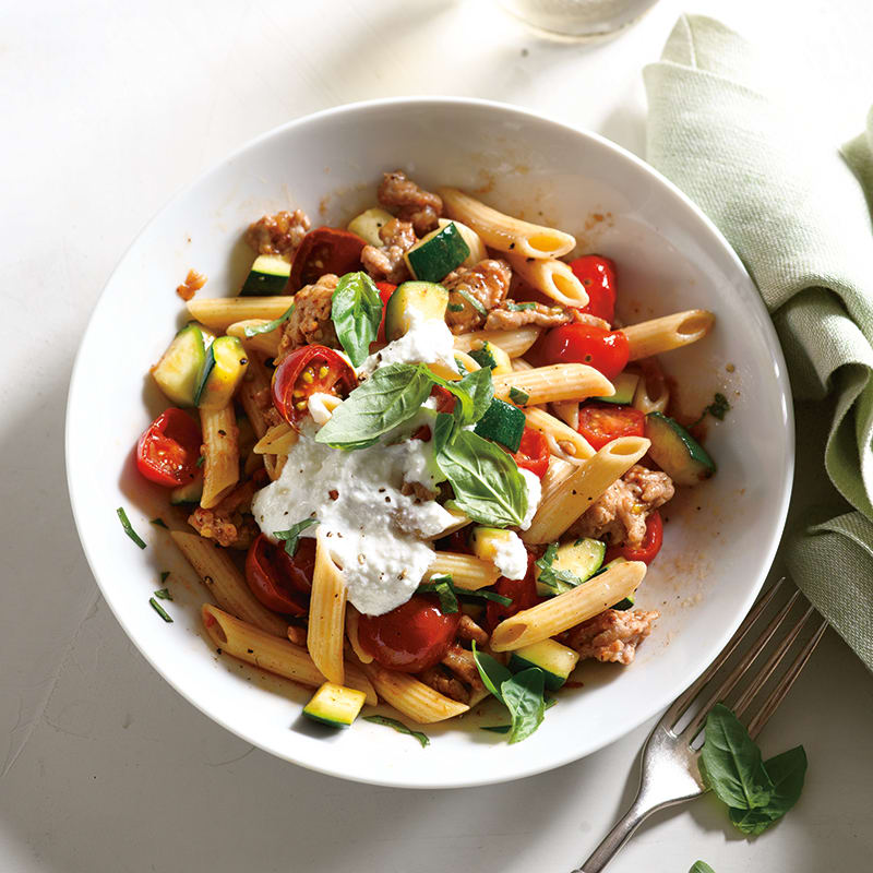 Photo of Garden-Style Penne with Sausage & Ricotta by WW