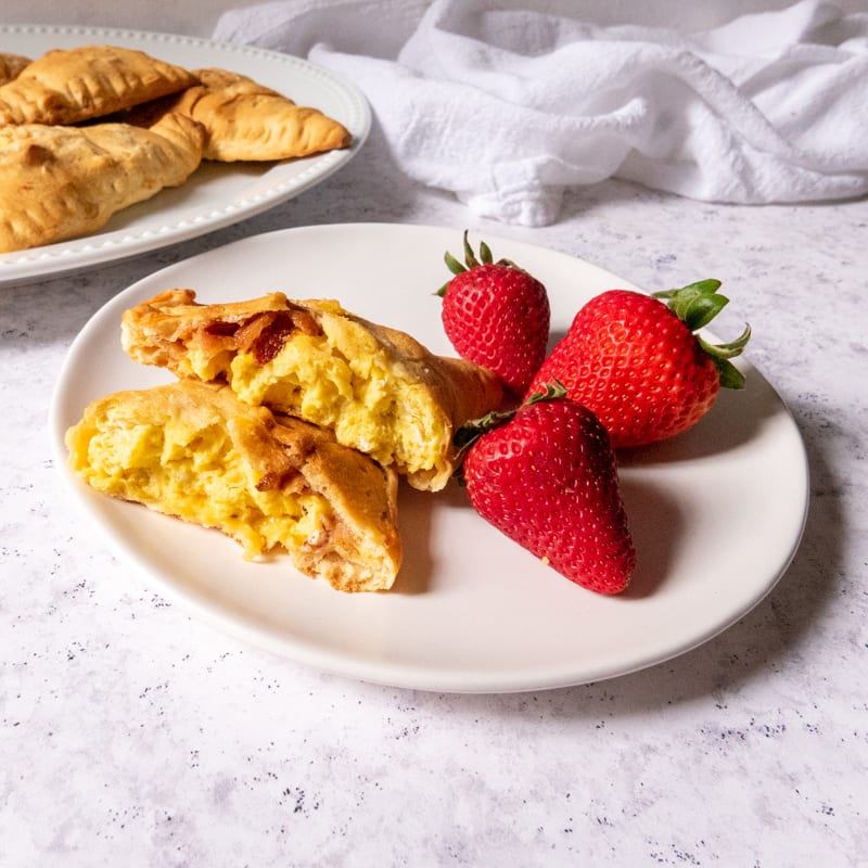 Photo of Bacon, egg, and cheese hand pies by WW