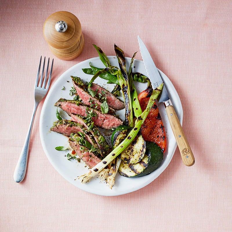 Photo of Herb-marinated steak by WW