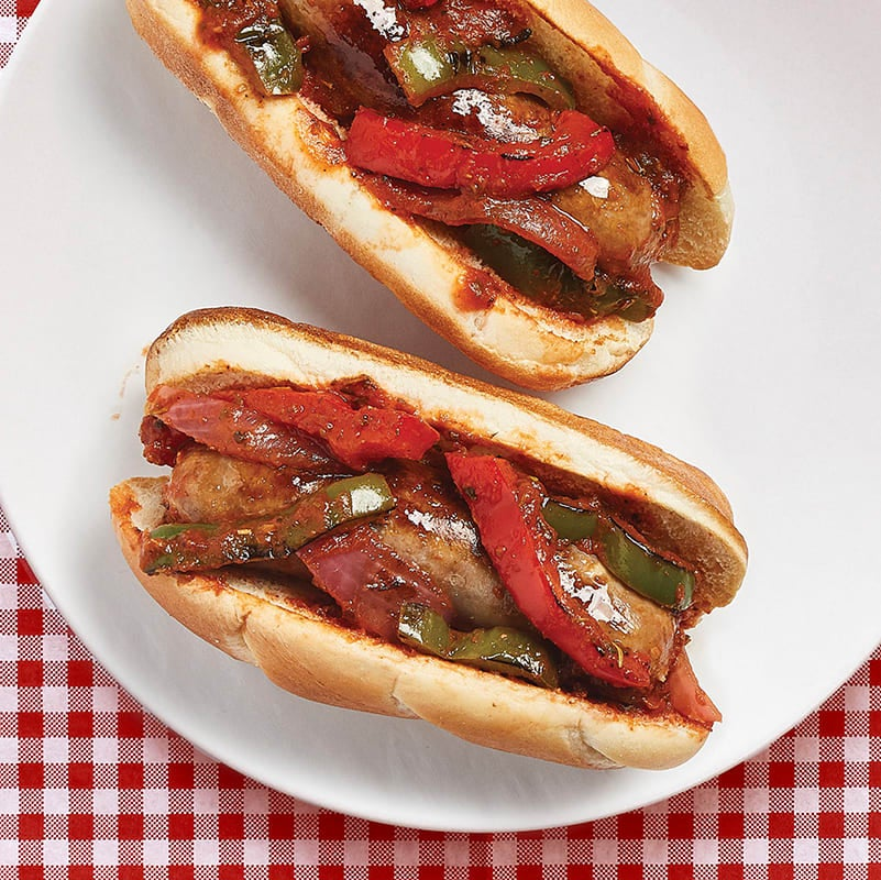 Photo of Balsamic sausages & peppers by Zen of Slow Cooking by WW