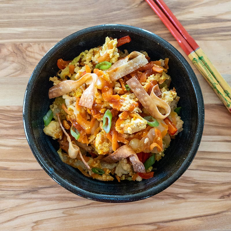 Photo of Inside-out egg roll bowl by Digital 360 Coach Lisa by WW
